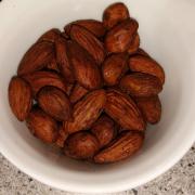Chili lakrids mandler